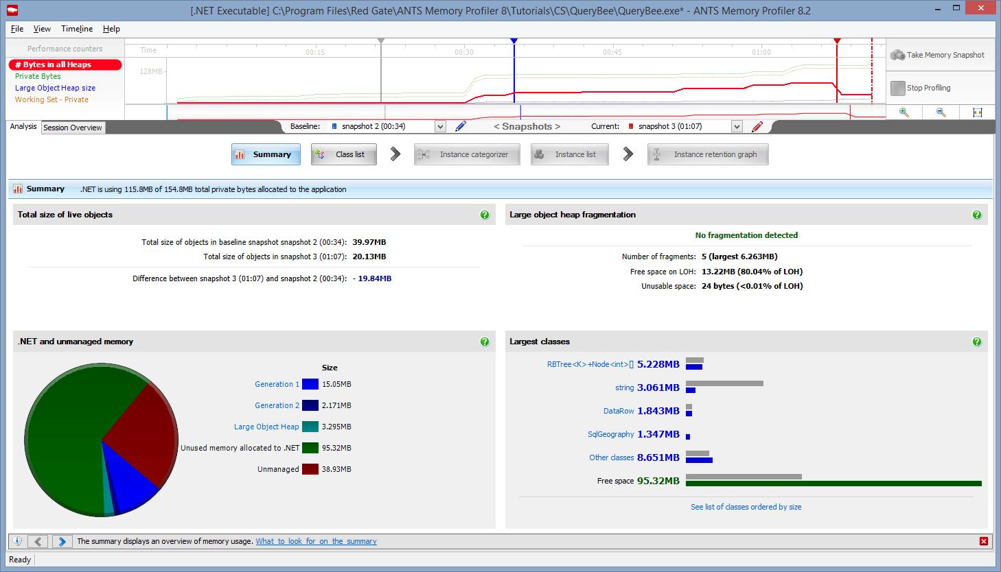 NET Memory Profiler By Redgate   ANTS Memory Profiler