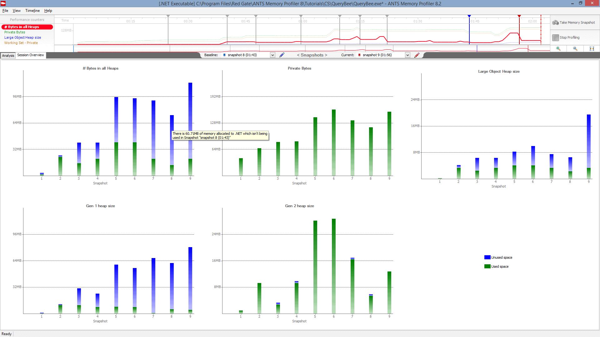 NET Memory Profiler By Redgate | ANTS Memory Profiler