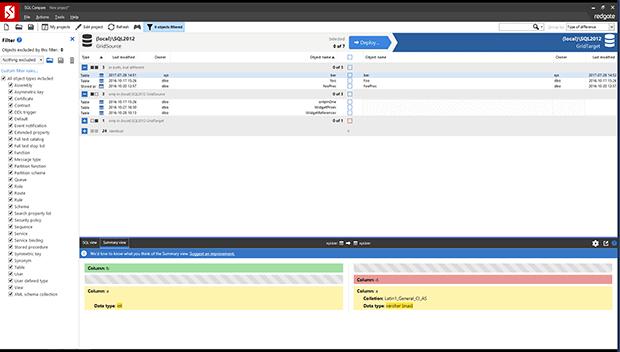 Redgate SQL (Schema) Compare v14.4.4.16824