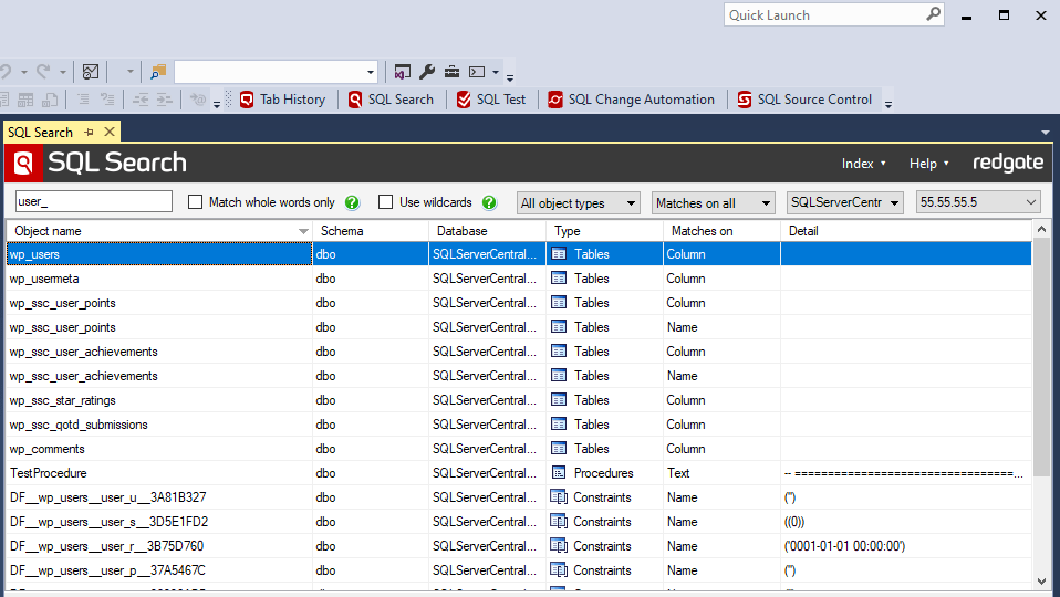 Sql Search Find Sql Fast In Sql Server Management Studio And