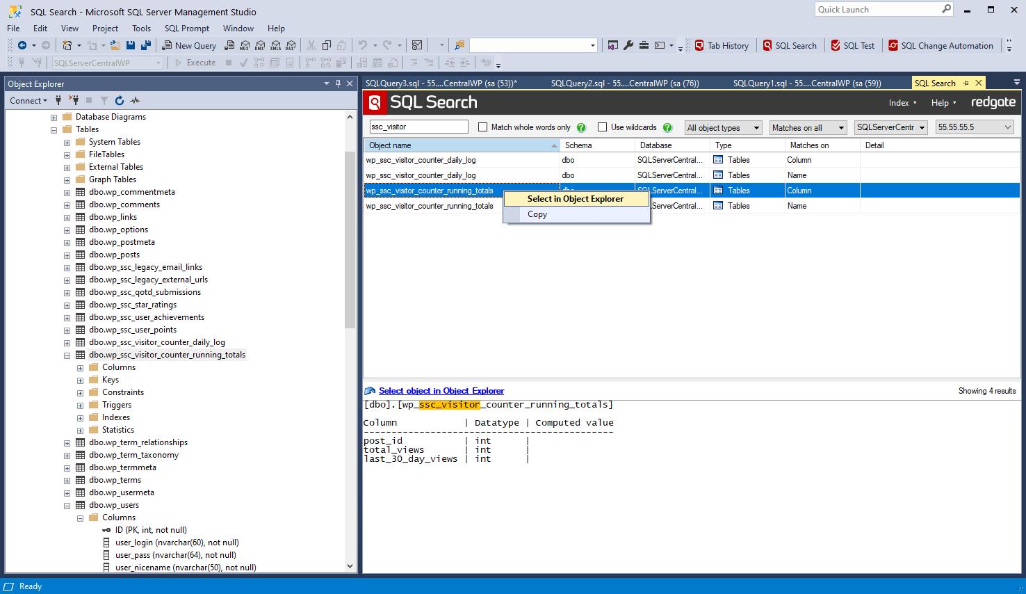 how to start new gatherer database